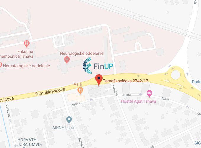 Kde nájdete spoločnosť pre moderné účtovníctvo areportingové služby - finup.sk